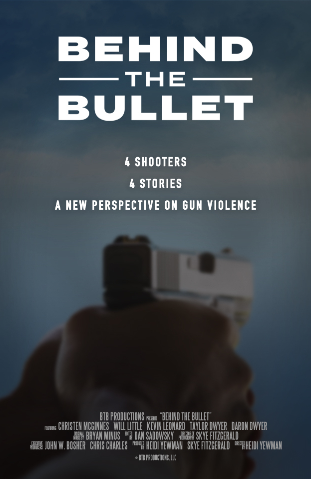 Poster for the film Behind the Bullet