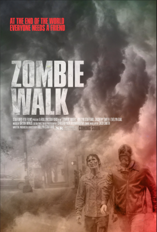 Poster for the film Zombie Walk