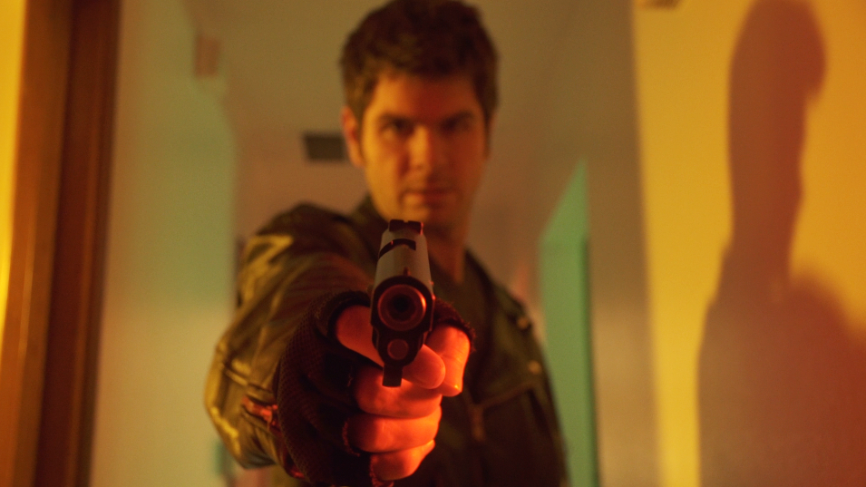 Still frame from the short film High Score from Dark and Moody Productions